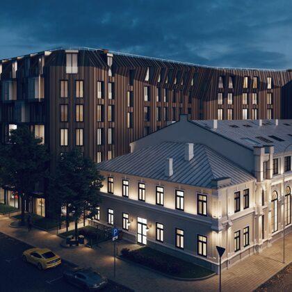 LOFTS&ROSEGOLD Daudzdzīvokļu nams, Strēlnieku iela 8, Rīga
