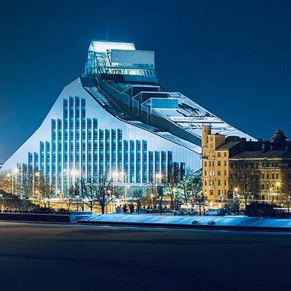Latvijas Nacionālā bibliotēka, Mūkusalas iela 3, Zemgales priekšpilsēta, Rīga, LV-1423